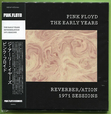 Pink Floyd THE EARLY YEARS. REVERBER/ATION 1971 SESSIONS CD Mini-LP Sealed W/OBI • 12.49£