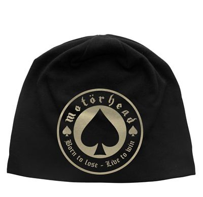Motorhead -  Born To Lose  - Beanie Hat - Official Product - U.k. Seller • 14.99£