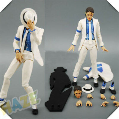 Michael Jackson MJ Smooth Criminal Moonwalk PVC Model Action Figure Toy Gift • 22.79£