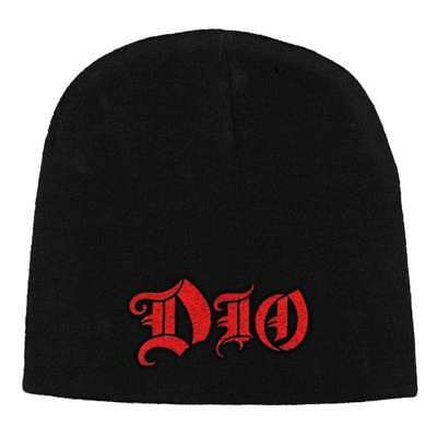 Dio -  Logo  - Beanie Hat - Official Product - U.k. Seller • 14.99£