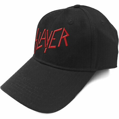 Slayer -  Classic Red Logo  - Baseball Cap - Official Product  • 14.99£