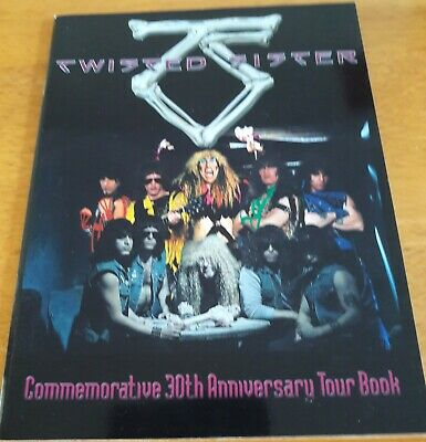 Twisted Sister 30th Anniversary Tour Book • 45£