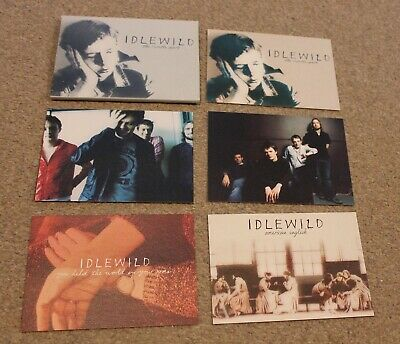 IDLEWILD 'The Remote Part' Limited Edition POSTCARD SET Of 5 Indie RARE • 7.50£