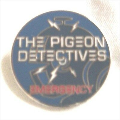 *REDUCED TO CLEAR* Pigeon Detectives Enamel Badge.,Oasis,Mod,Indie • 2.49£