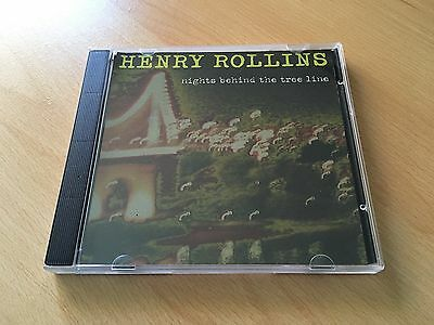 Nights Behind The Tree Line - Henry Rollins (2004, CD) • 8.99£