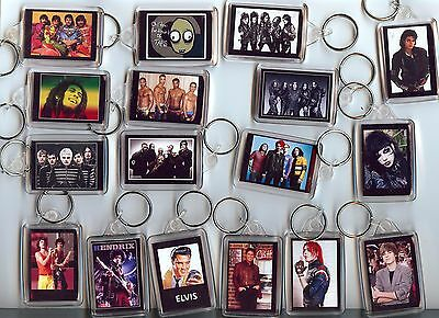 My Chemical Romance Gerard Way Mcr Andy Sixx Bieber Keyring Bagtag Birthday Gift • 2.75£