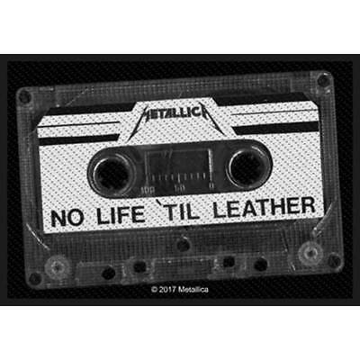 Metallica -  No Life Till Leather  - Woven Sew On Patch - Official - U.k. Seller • 3.49£