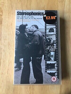 Stereophonics - Call Us What You Want But Don't Call Us In The Morning - VHS Vid • 2.50£