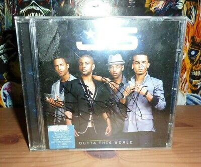 JLS Outta This World Signed CD • 24.99£