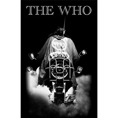 Official Licensed - The Who - Quadrophenia Textile Poster Flag Rock Mod • 18.99£