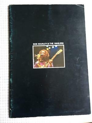 Tour Programme Bob Marley & The Wailers 1979 Japan Tour  #1 • 85£