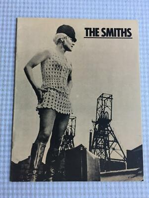 The Smiths Tour Programme Meat Is Murder Rare USA Tour 1985 • 85£