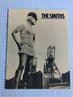 Tour Programme The Smiths Meat Is Murder Rare USA Tour 1985 • 100£