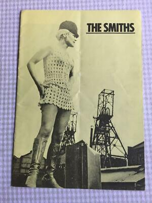 Tour Programme The Smiths Meat Is Murder UK Tour 1985 Morrissey Ref 4 • 30£