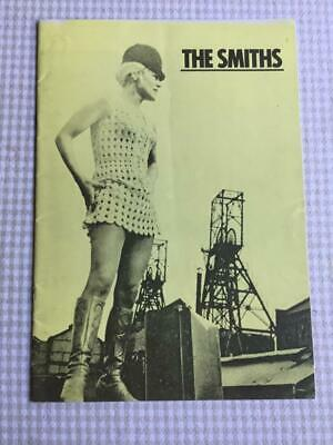 The Smiths Tour Programme Meat Is Murder UK Tour 1985 Morrissey Ref 5 • 28£