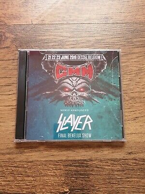 Slayer Concert CD Graspop Dessel Belgium 2019 • 12.95£