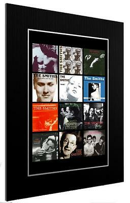 Mounted / Framed Print The Smiths 12 Discography 3 Sizes Poster Gift Artwork • 27.01£
