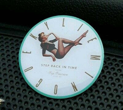 Kylie Minogue Step Back In Time Unreleased Pin Badge £5 Coin Size  • 39.99£