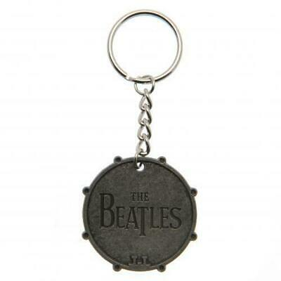 Official Licensed - The Beatles - Bass Drum Keychain Metal Keyring • 6.99£