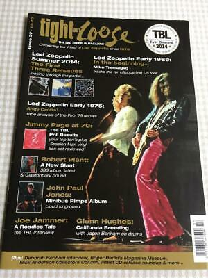 Led Zeppelin Fanzine / Magazine  Tight But Loose Issue 37 • 16£
