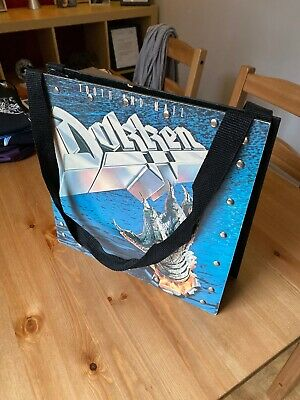 Dokken Tooth And Nail Vinyl Handbag - Custom Made, Rare, Rock AOR • 29.99£