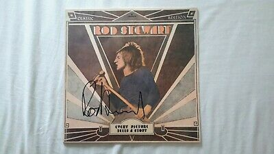 Rod Stewart Signed Album  • 110£
