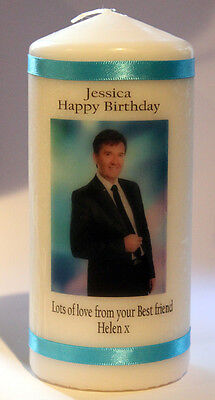 Candle Personalised Daniel O'Donnell Gift Unique Keepsake Cellini Candles  • 13.99£