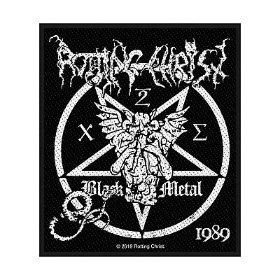 Rotting Christ -  Black Metal  - Cut Out Woven Sew On Patch - Official Item • 3.49£