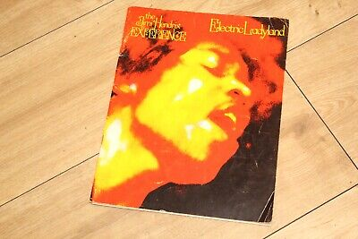 VERY RARE 1968 Jimi Hendrix - Electric Ladyland Song Book Vintage London England • 45£