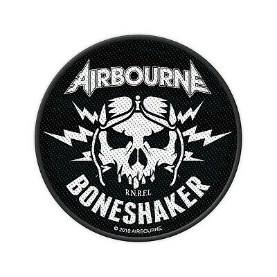 Airbourne -  Boneshaker  - Woven Sew On Patch • 3.49£