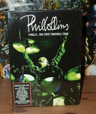 Phil Collins Finally...The First Farewell Tour DVD (2004) • 9.99£