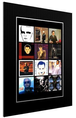 Mounted / Framed Print Gary Numan Discography - Different Sizes Poster Print • 13.11£