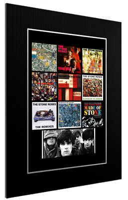 Mounted / Framed Print The Stone Roses  Discography - Different Sizes Print  • 18.73£