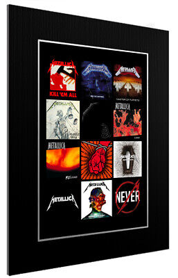 Mounted / Framed Print Metallica Discography - Different Sizes Poster Print • 44.11£