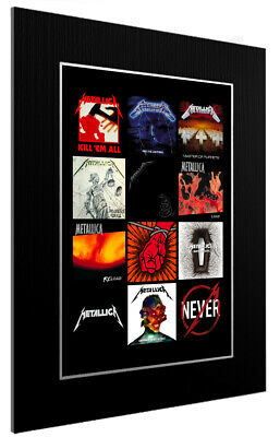 Mounted / Framed Print Metallica Discography - Different Sizes Poster Print • 42.83£