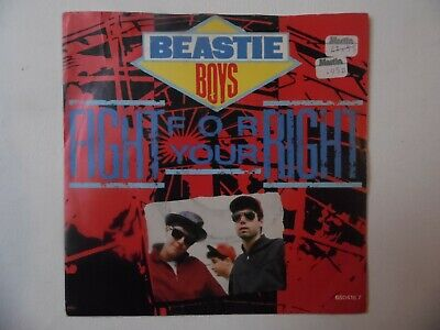 Beastie Boys - Fight For Your Right 7  Vinyl Record • 8£
