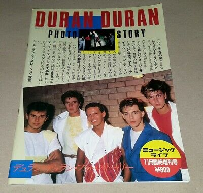 DURAN DURAN Photo Story Japanese Softcover Book GIFT IDEA • 14.99£