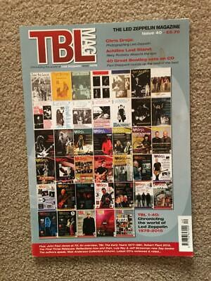 Led Zeppelin Fanzine / Magazine  Tight But Loose Issue 40 • 16£