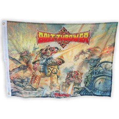 Bolt Thrower 'Realm Of Chaos' Printed Flag - NEW OFFICIAL • 16.99£