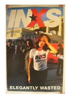 INXS Poster Commercial Elegantly Wasted • 85.35£
