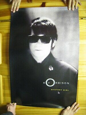 Roy Orbinson Poster Mystery Girl The Traveling Wilburys Wilbury's • 25.86£