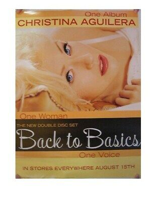 Christina Aguilera Poster Back To Basics • 22.11£