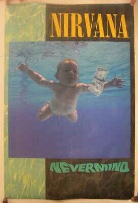Nirvana Poster Nevermind Baby Swimming For Money • 393.39£
