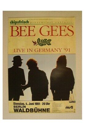 The Bee Gees Poster BeeGees Concert 1991 • 45.83£