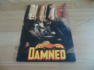 The Damned - The Anything Tour  (rare Programme) Punk Rock • 14.99£
