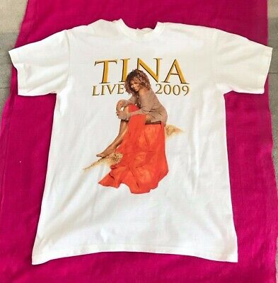 TINA TURNER LIVE IN CONCERT 2009 Tee Shirt New Size S • 9.95£