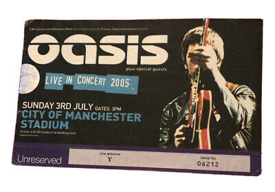 Oasis Ticket 'Don't Believe The Truth' Tour Manchester City Stadium 3 July 2005 • 24.95£