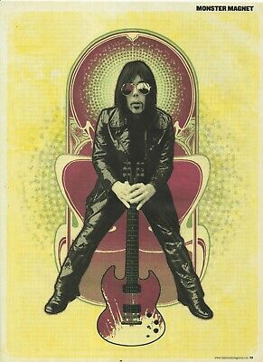 DAVE WYNDORF Of MONSTER MAGNET Magazine Clipping/Poster 11.5  X 8.5  • 2.99£