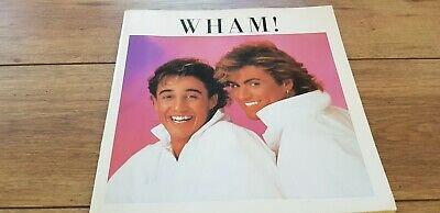 Wham  The Big Tour In Japan   Rare Japanese Tour Book 1985 Ex • 34.99£