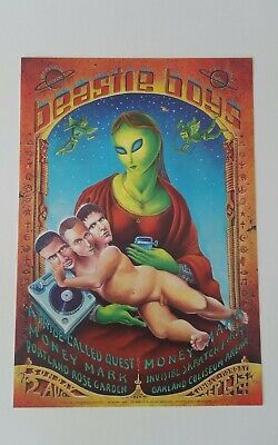 Beastie Boys Vintage Poster From 1998 Emek A Tribe Called Quest • 47.64£